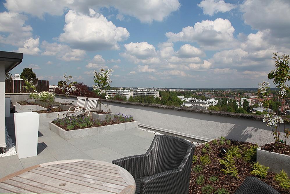 terrasse sur le toit marcotte style. Black Bedroom Furniture Sets. Home Design Ideas