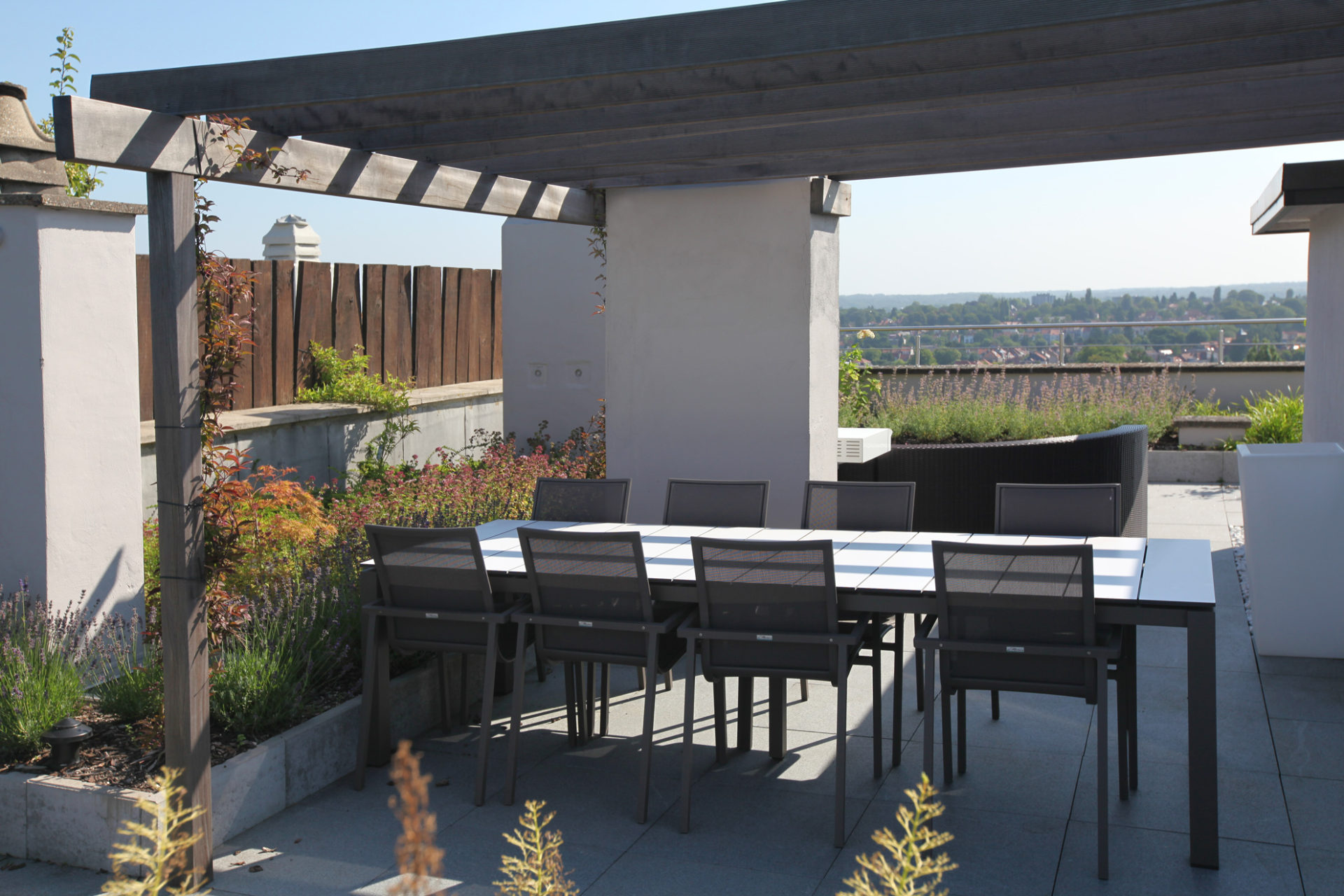 Penthouse in enger Landhausstil - Marcotte Style
