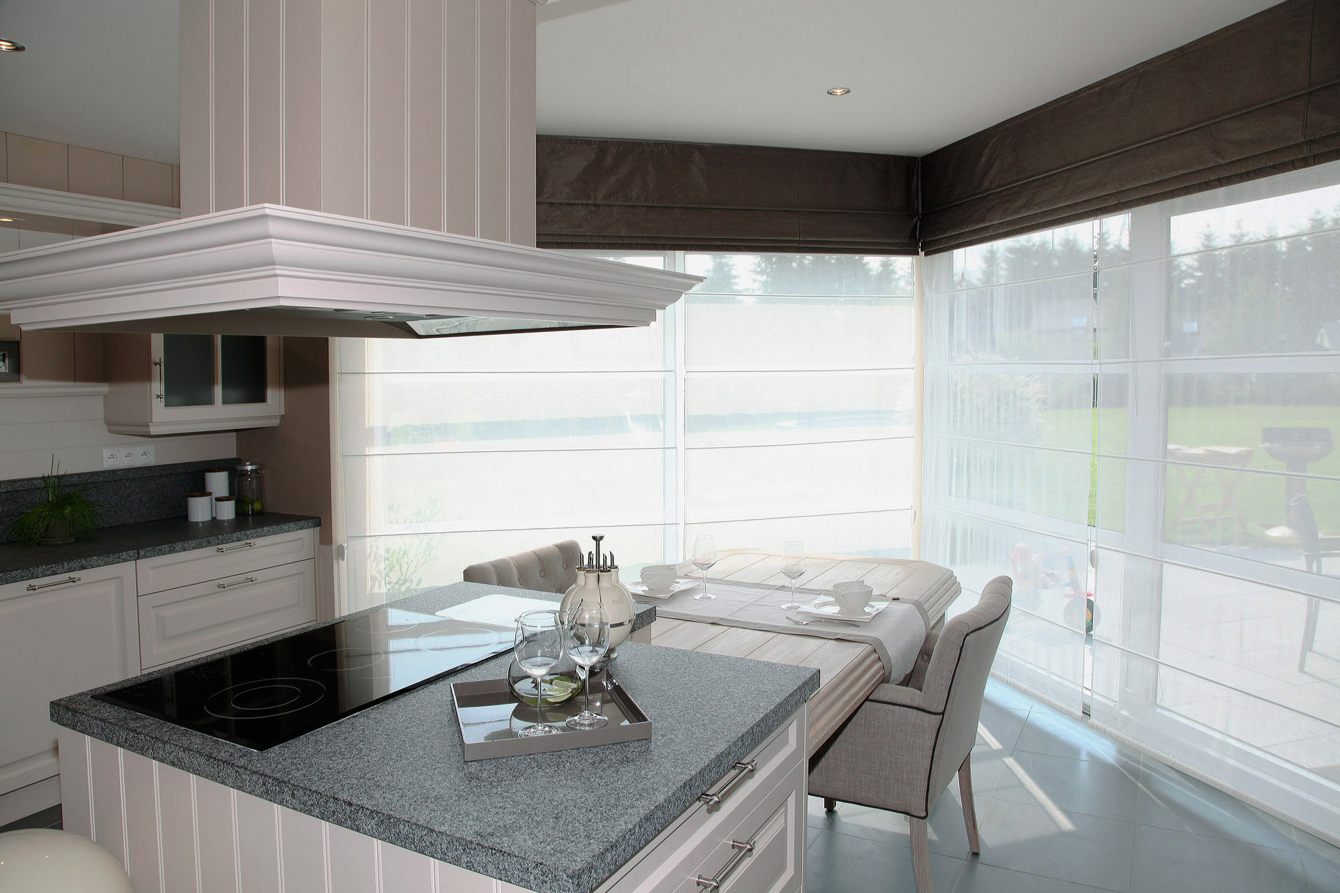 Contemporary interior marcotte style