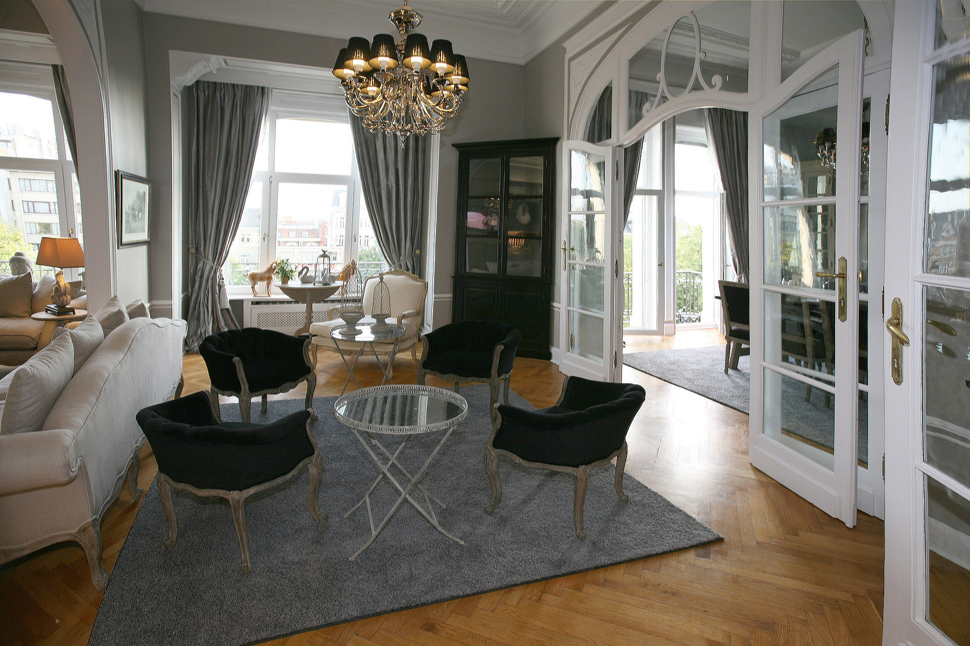 Ambassadeur woning Brussel - Marcotte Style