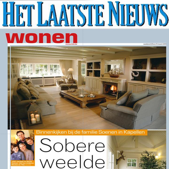 2010 – Het Laatste Nieuws-villa Kapellen