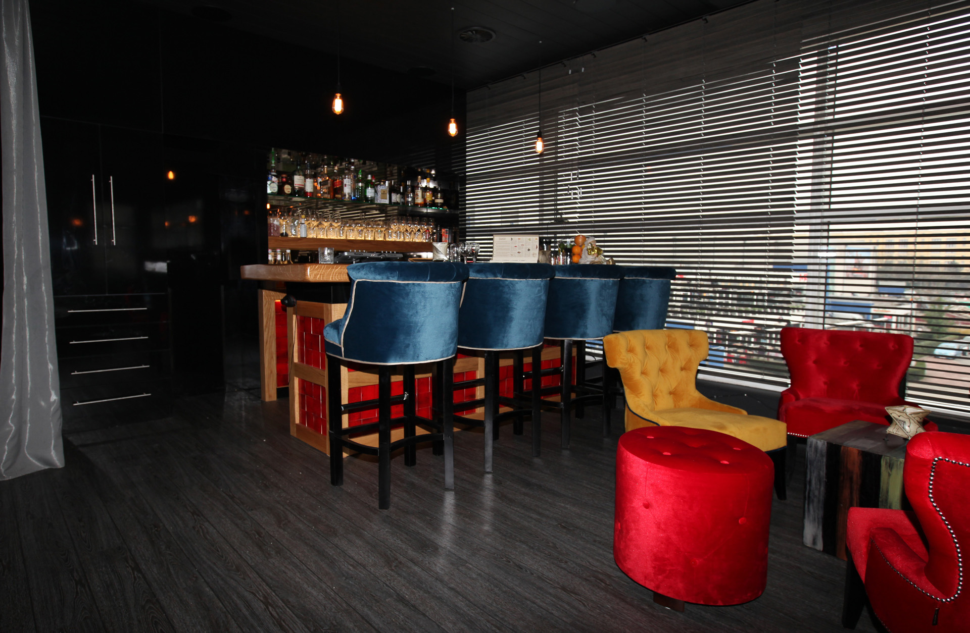 Lounge & restaurant inrichting - Marcotte Style