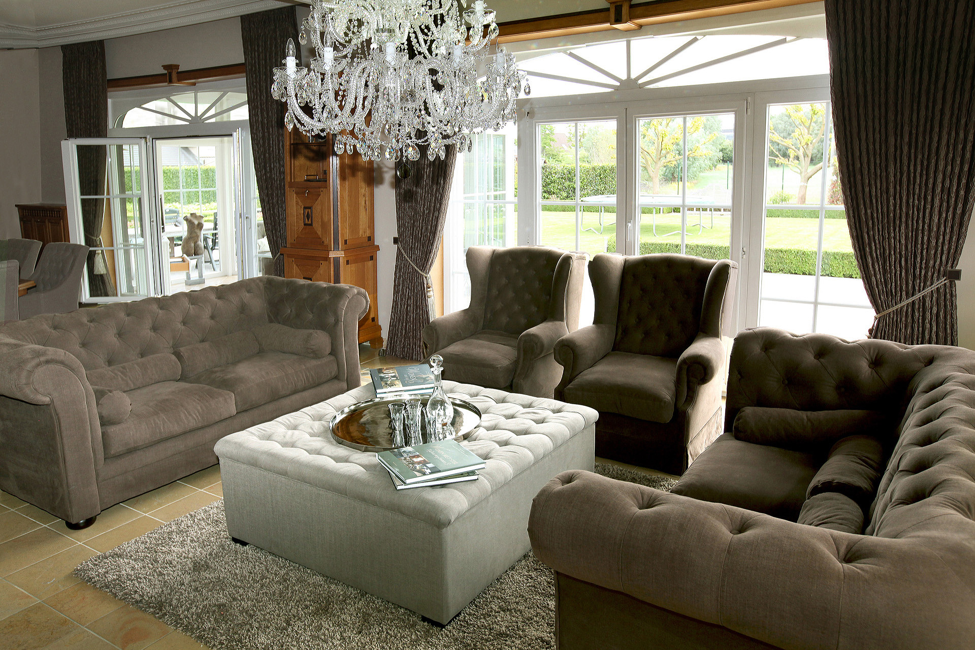 Classic interior - Marcotte Style
