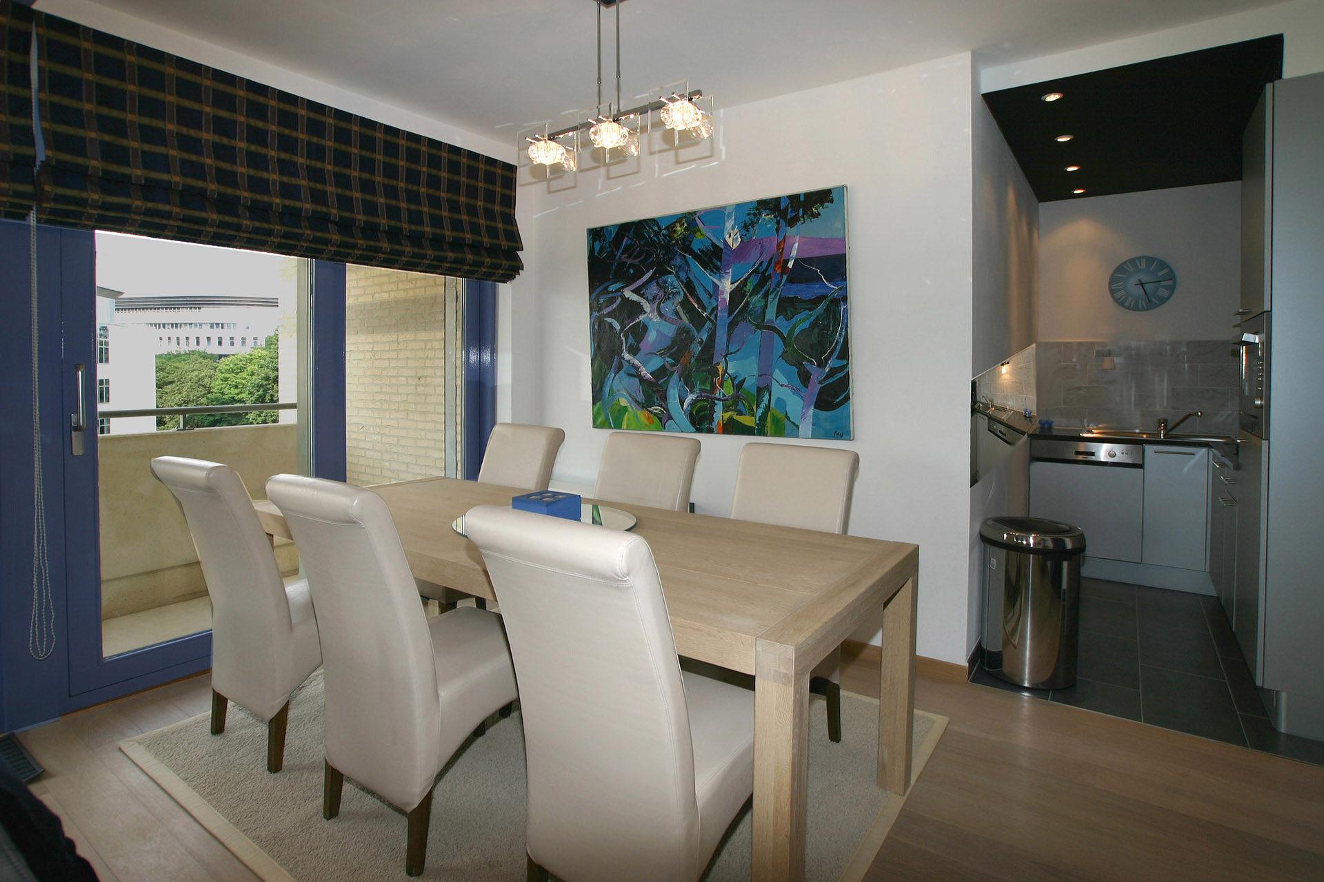 Petit appartement aux couleurs homog nes marcotte style - Petit appartement aux details vintages ...