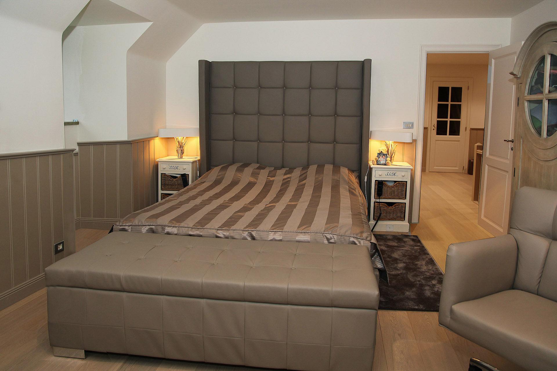 Slaapkamer Landelijk Boxspring : Landelijke slaapkamers marcotte style