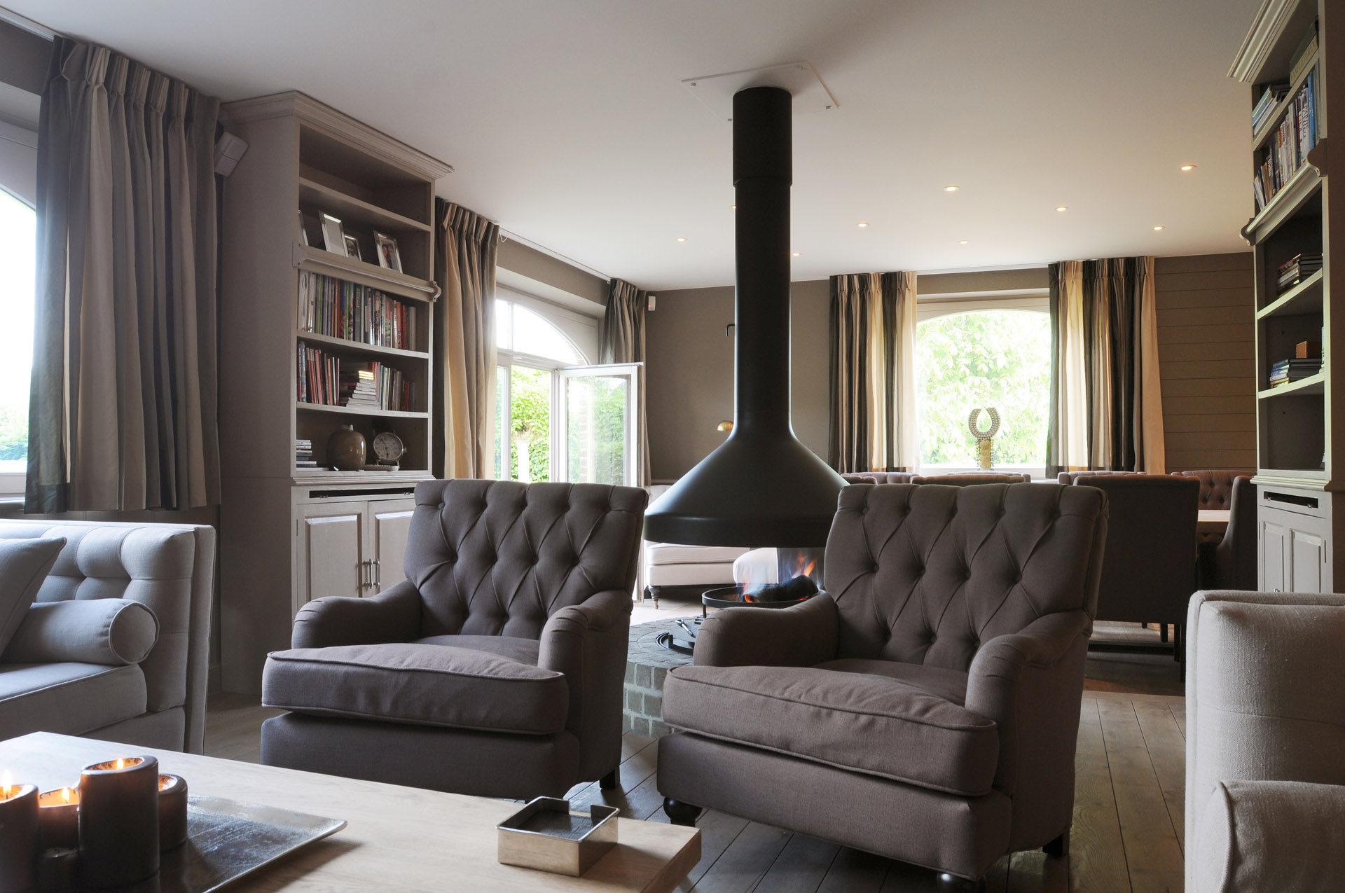 Woonkamer Cottage Stijl : Landelijke woonkamers marcotte style