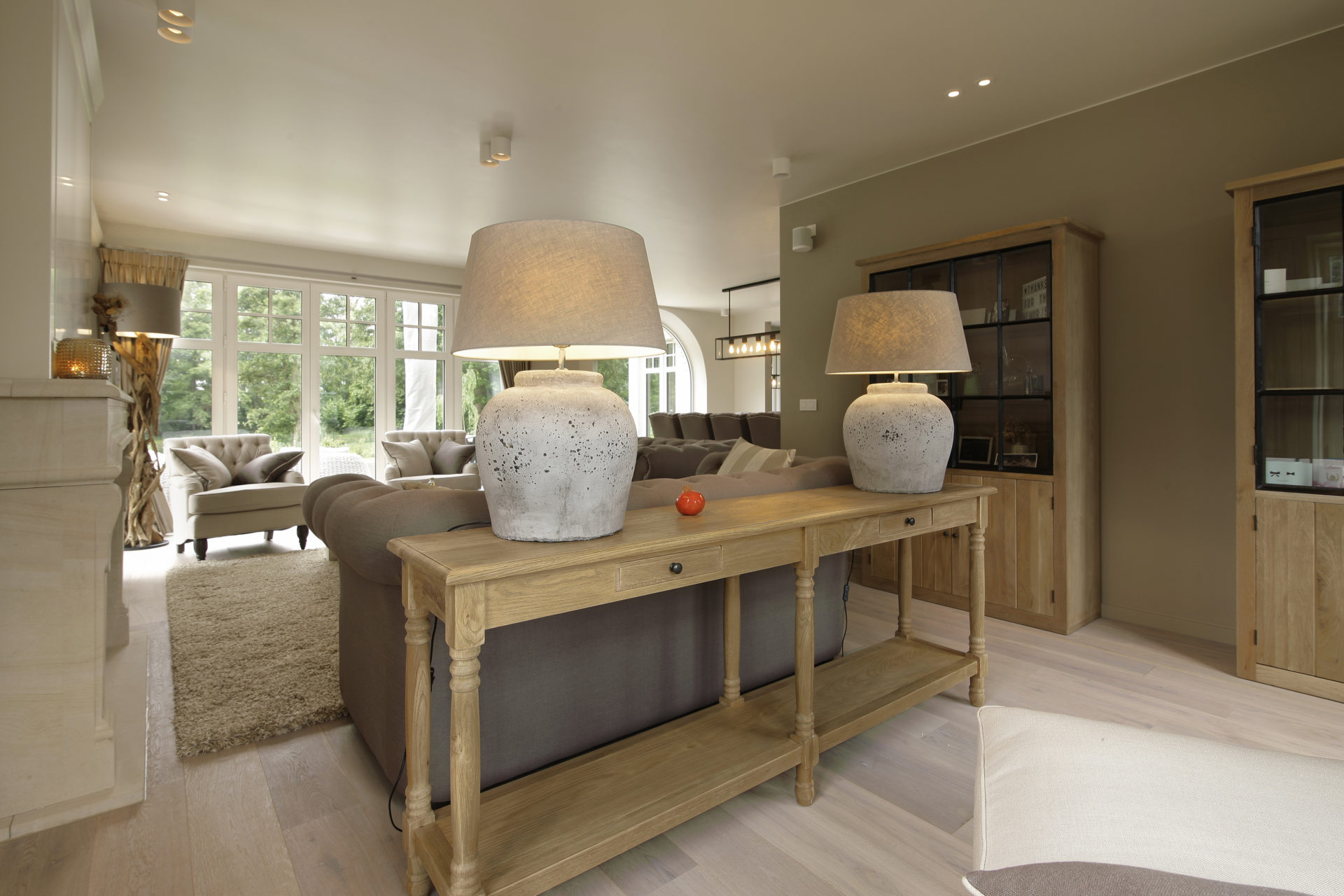Contemporary Country Interior - Marcotte Style
