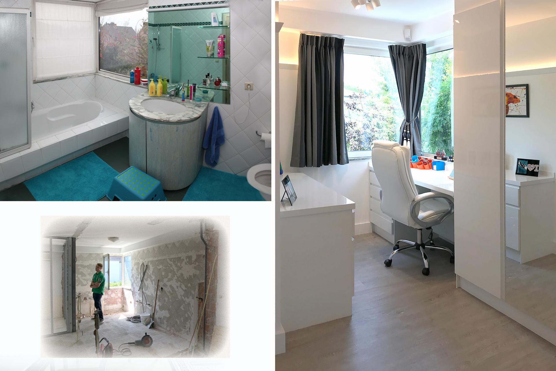 Moderne inrichting villa in Wilrijk - Marcotte Style