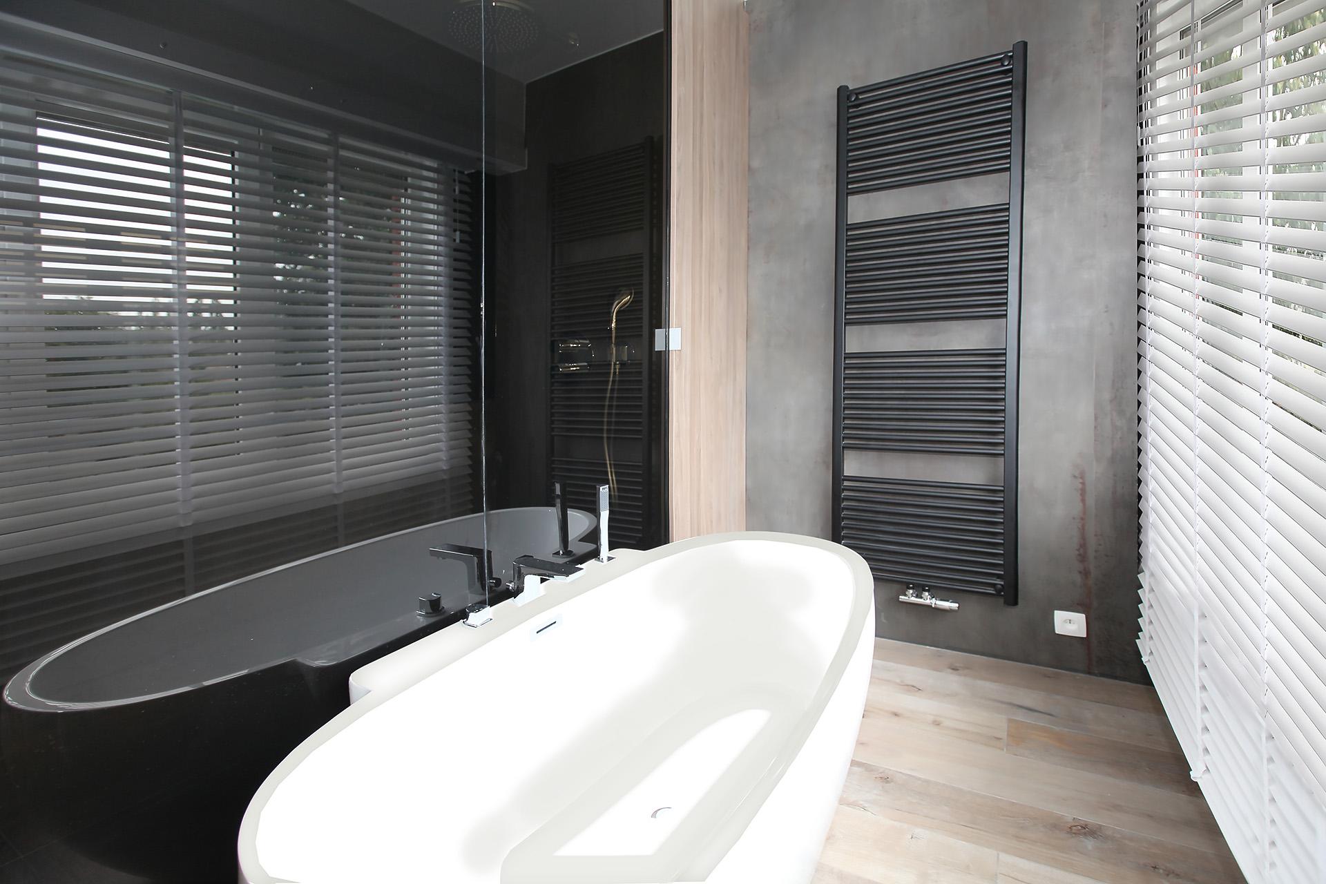 Slaapkamer met badkamer en dressing - Marcotte Style