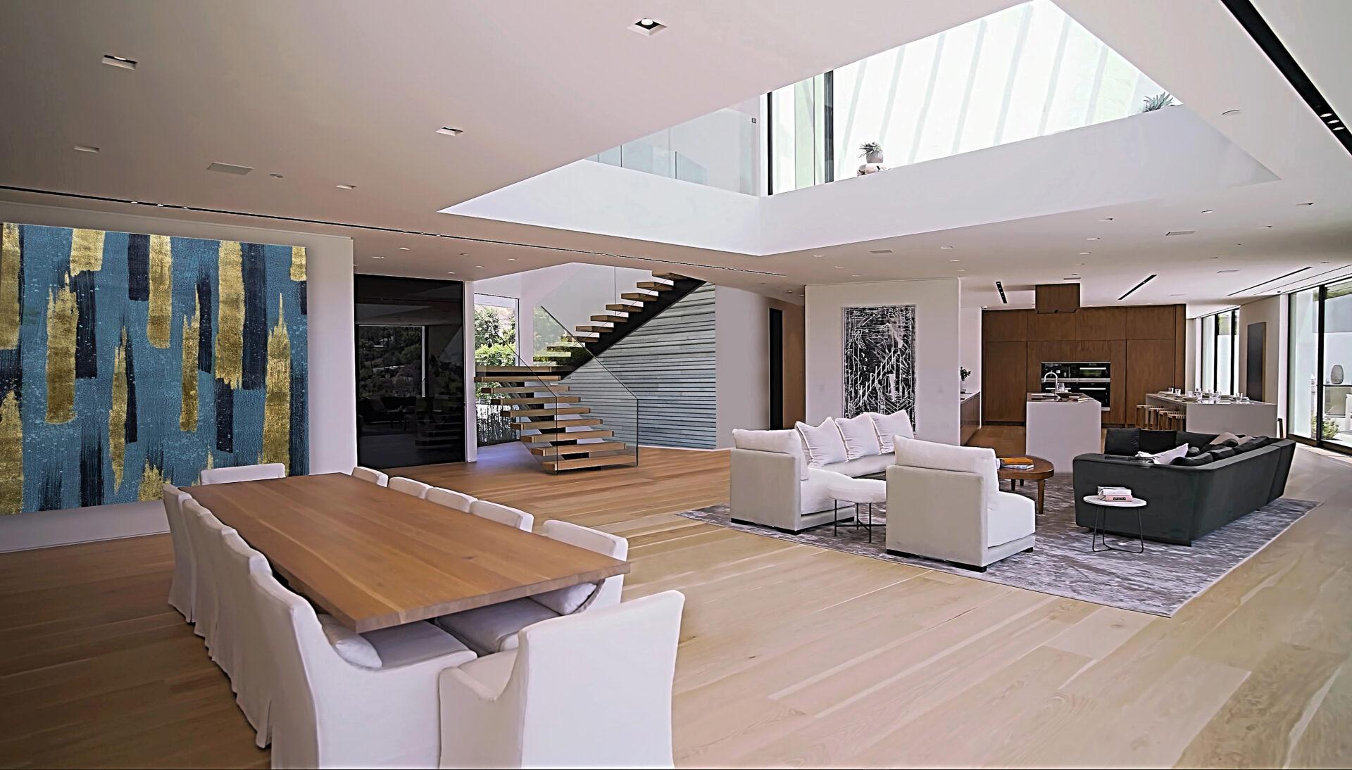 Moderne villa an der Küste